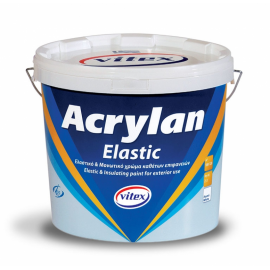 ACRYLAN ELASTIC 3L ΛΕΥΚΟ VITEX